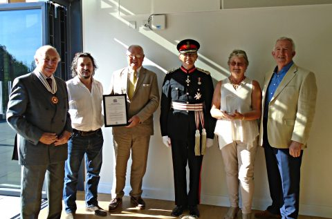 Queen's Award for Voluntary Service to the CIC 2016