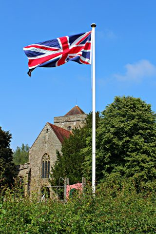 Flying the Flag for the Queen's Birthday