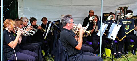 Wadhurst Band at the Big Weekend 2019