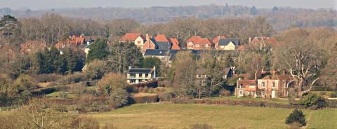 Etchingham view of village