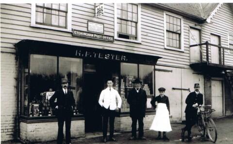 photo of Etchingham Stores c1900