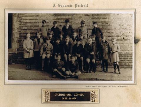 photo of Etchingham School 1935