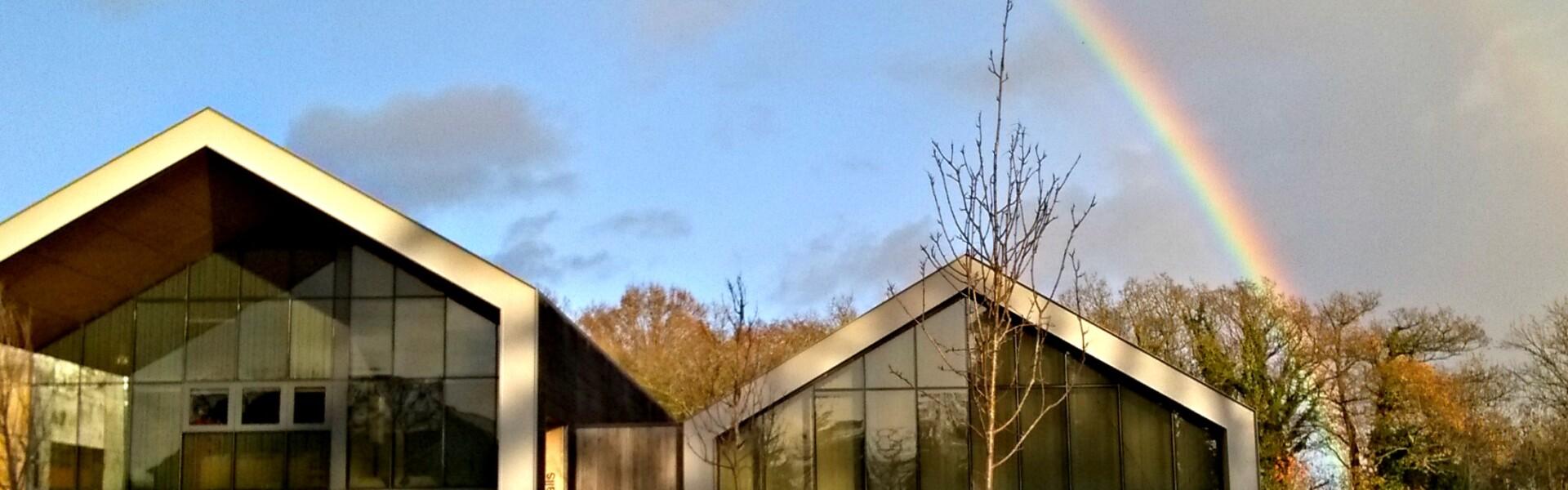 Etchingham village halls and rainbow